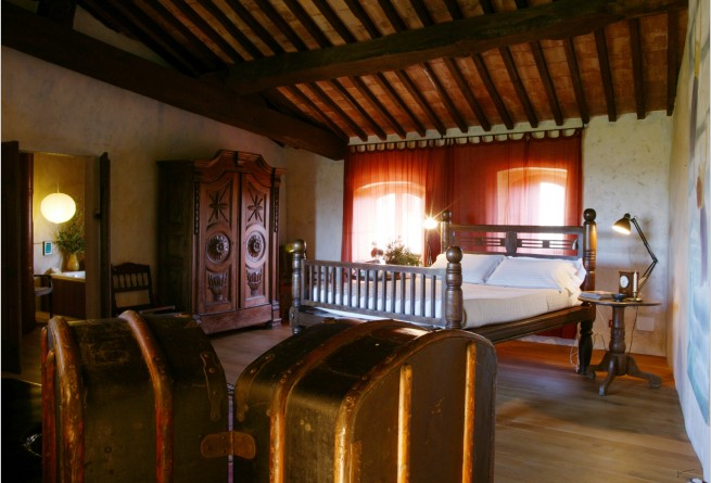 Vicario Suite Bedroom