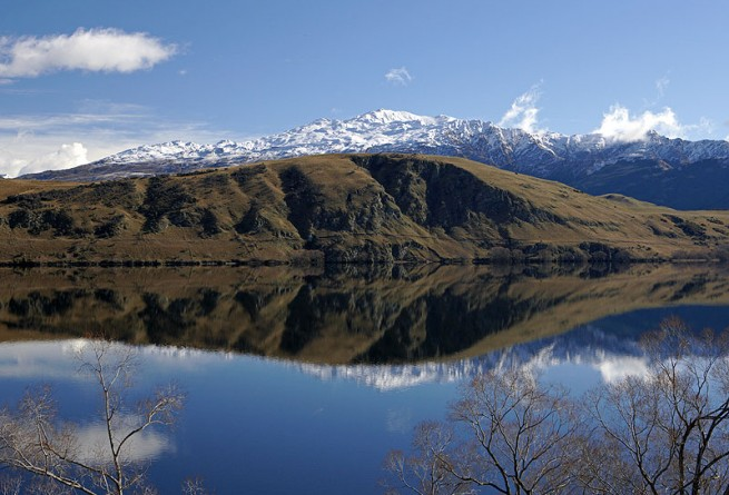 Lake Hayes and Coronet Peak