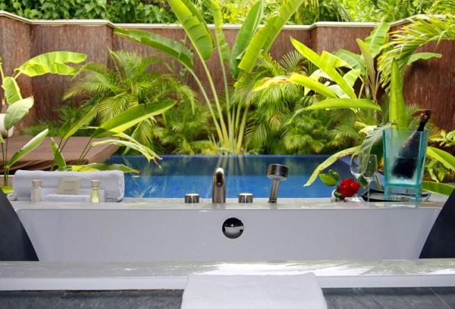 Beach Bungalow plunge pool