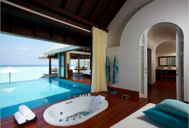 Over-water Pool Villa bathroom