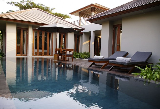 Pool Villa swimming pool