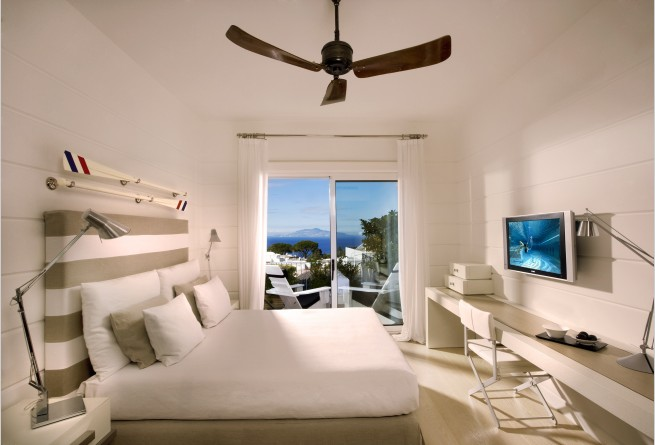 Superior Double Sea Side bedroom