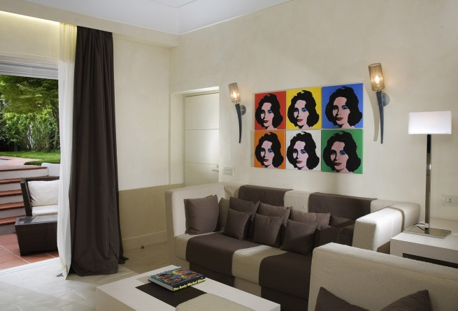 Suite Andy Warhol lounge