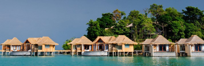 Over Water Villas from water_jpg