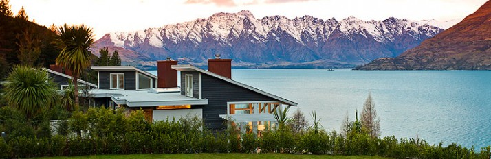 Exterior - Matakauri Lodge - Queenstown - New Zealand