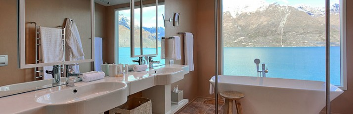 Bathroom - Matakauri Lodge - Queenstown - New Zealand