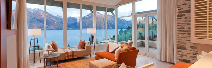 Lounge - Matakauri Lodge - Queenstown - New Zealand
