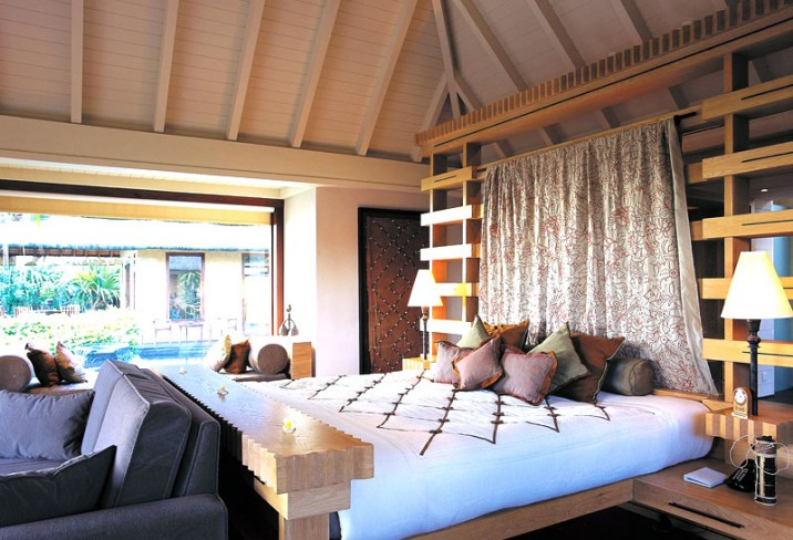 Mr & Mrs Smith - Luxury Pavilion bedroom