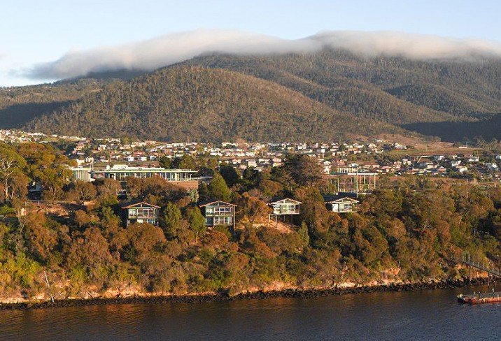 Mona Pavilions Hotel Overview Berriedale Hobart