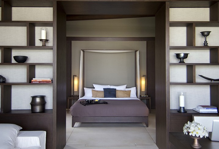 Mr &amp; Mrs Smith - Ocean Pool Villa bedroom