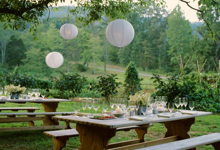 Mr & Mrs Smith - Outdoor dining in the garden