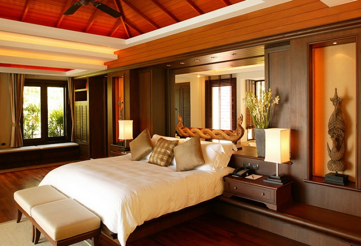 Mr & Mrs Smith - Ocean View Pool Villa bedroom