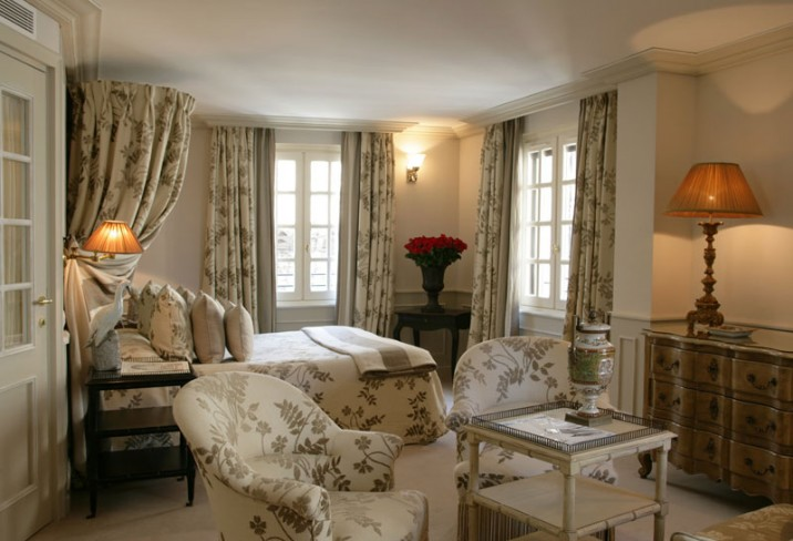 Mr & Mrs Smith - Le Saint Paul, bedroom