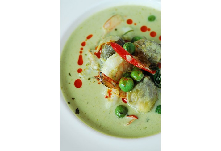 Mr & Mrs Smith - Prawn green curry