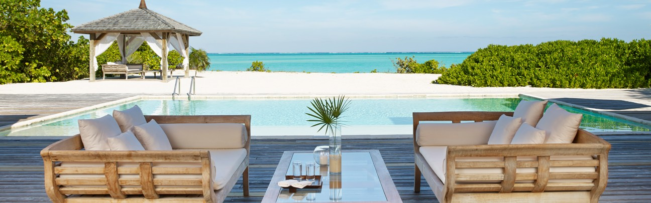 Parrot Cay by Como hotel – Turks & Caicos – Carribbean