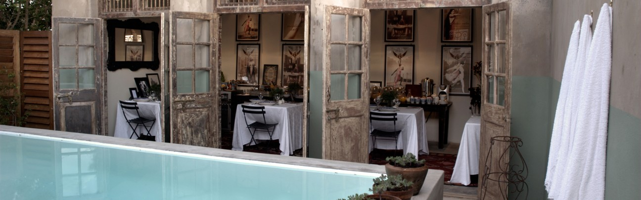 The Grand Café & Rooms hotel - Garden Route - South Africa