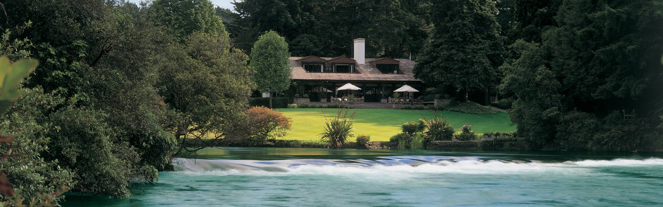 Huka Lodge hotel – Lake Taupo – New Zealand