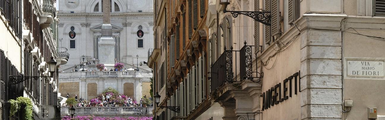 Crossing Condotti hotel – Rome –Italy