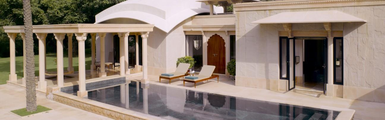 Pool Pavilion - Amanbagh - Jaipur - India