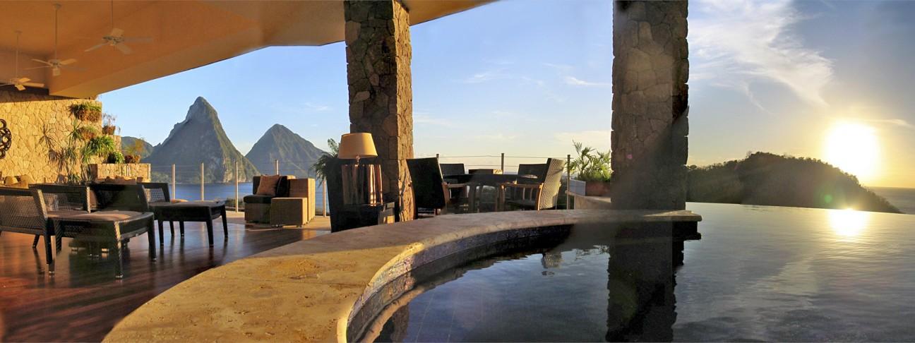 Jade Mountain hotel - St Lucia - St Lucia