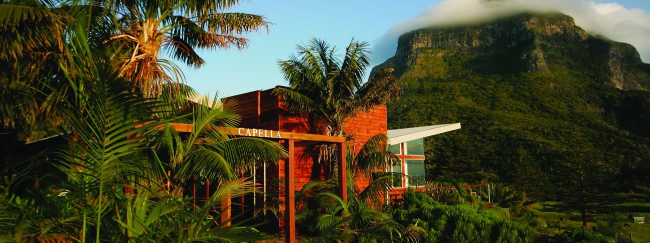 Capella Lodge hotel - Lord Howe Island - Australia