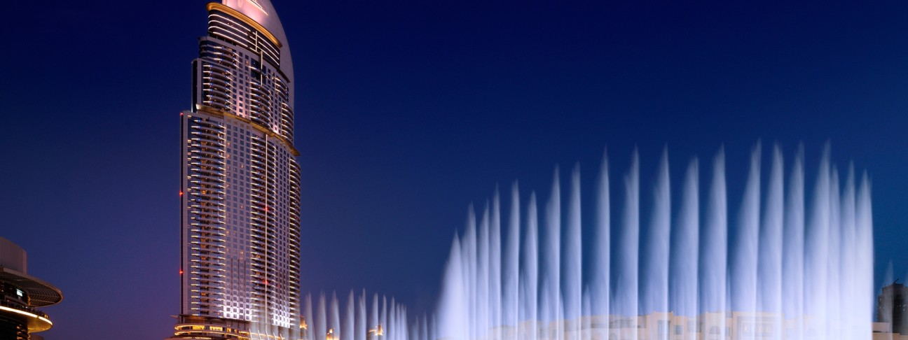 The Address Downtown Dubai hotel - Dubai - United Arab Emirates