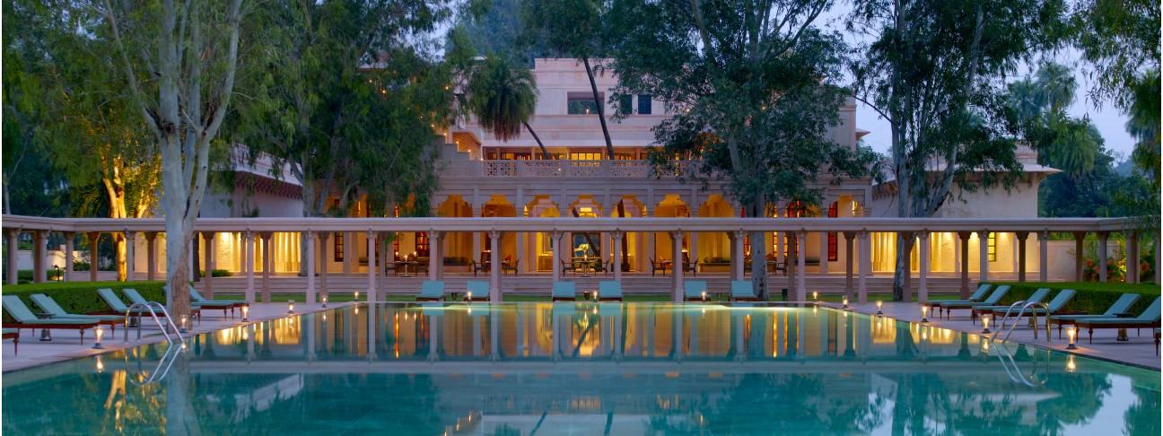 Swimming pool - Amanbagh - Jaipur - India
