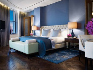 River Suite Bedroom Corinthia Hotel London